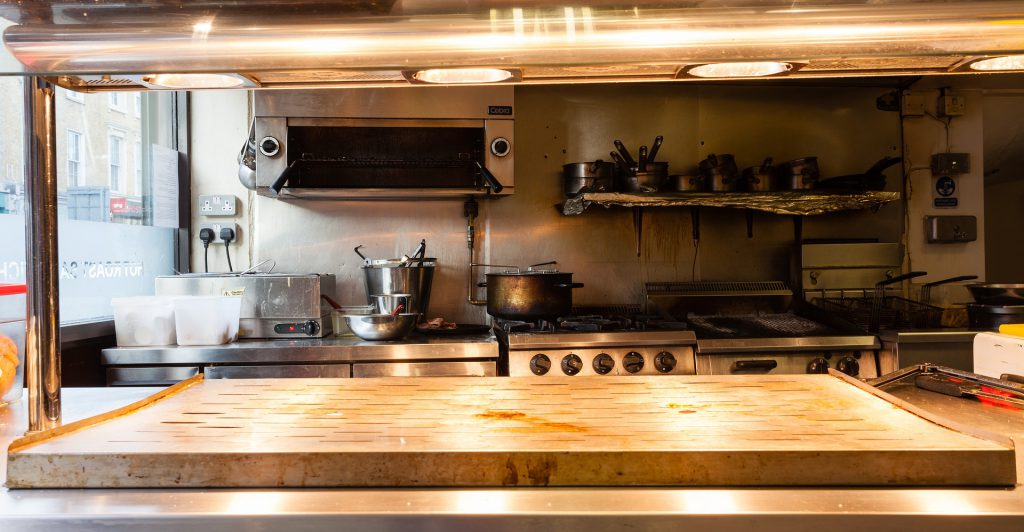 厨房の機械設備
