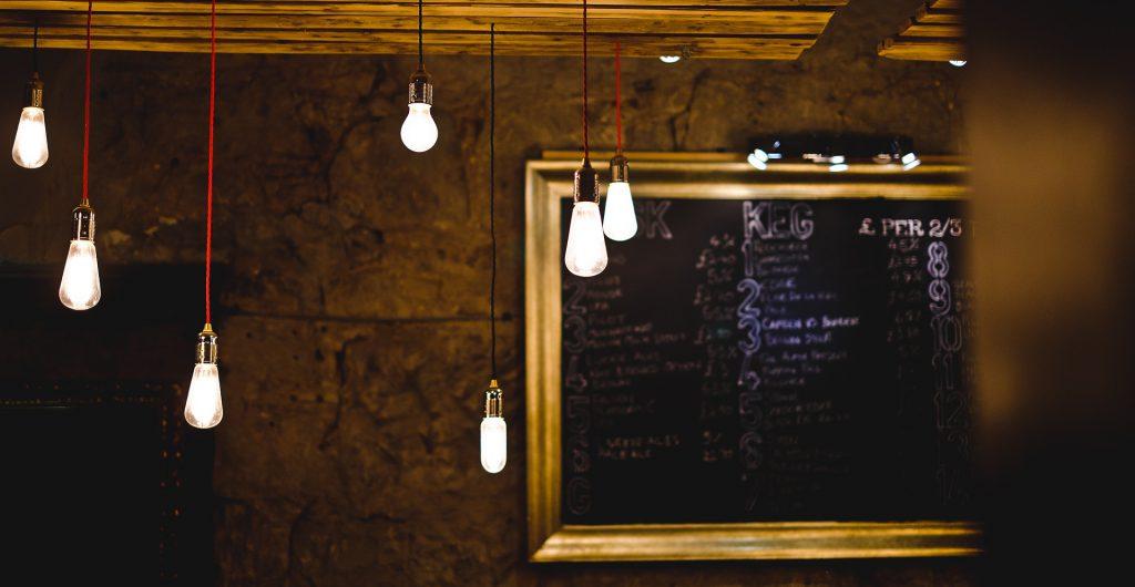 客席の照明