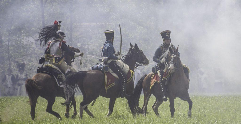 忠誠心がある騎兵隊
