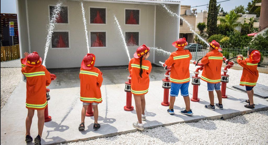 子供の防火活動